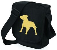 Staffordshire Bull Terrier Dog Bag Reporter Shoulder Bags Xmas Gift Staffie