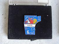 2000 Coca Cola Sydney Olympics #6 Pin Back NIB