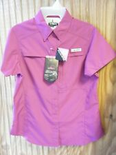 WOMEN'S HABIT VALLEY TRAIL SHORT SLEEVE SHIRT SIZES S or M *NEW*