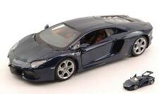Lamborghini Aventador LP700-4 2011 Blue 1:24 Model MAISTO