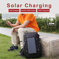 KINGSONS Solar Charging Backpack