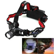 2000LM CREE Q5 LED Zoomable Headlamp HeadLight 3 Mode 18650/AAA Torch Light BA