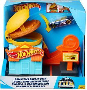 Hot Wheels Downtown Burger Dash