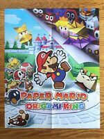 Official Paper Mario: Origami King / Thousand-Year Door Poster Switch Gamecube