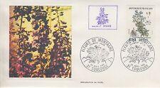 ESSAIE SERIGRAPHIE DE NOEL  PREMIER JOUR 1983  EUROPA FLEURS DE MONTAGNE
