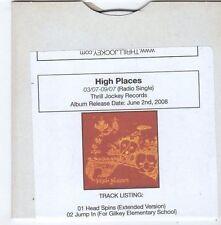 (FG609) High Places, Head Spins / Jump In - 2008 DJ CD