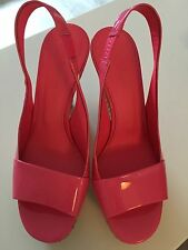 Jil Sander Wedges Pumps Pink Lack 37