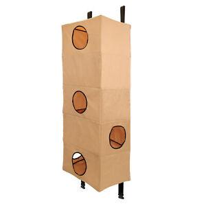 MiMu Door Hanging Cat Tower, Large - Nylon Hanging Cat Condo Over Door Cat Tree