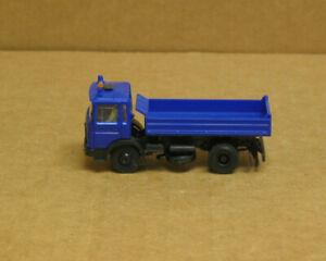 HERPA HO MAN Blue Dump Truck