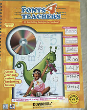 Fonts 4 Teachers - CD-ROM By Fonts 4 Teachers - GOOD