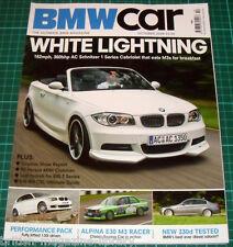 BMW Car Oct. 2008 - BMW E46 M3 CSL - Clubman E71 X6 Alpina E30 M3 E65 E46 330d