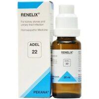 Adel Pekana Adel 22 (Renelix) (20ml) For Renal Calculi free shipping