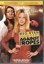 AGAINST THE ROPES - DVD (USATO EX RENTAL)