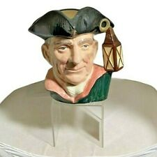 """Royal Doulton Night Watchman Character Jugs from Williamsburg  D6569 Large (7"""")"""