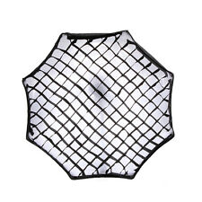 80cm Oktagon Schirm Softbox Honeycomb Grid Wabe für Blinken Studiolicht Umbrella