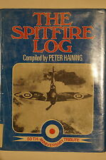 WW2 British The Spitfire Log 50th Anniversary Tribute Reference Book