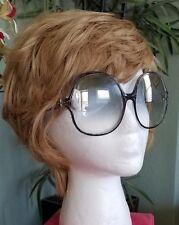 Vintage Oscar De La Renta 70s Oversize Mod Sunglasses