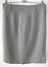 Ladies COUNTRY ROAD Grey Wool blend Size 12 Skirt