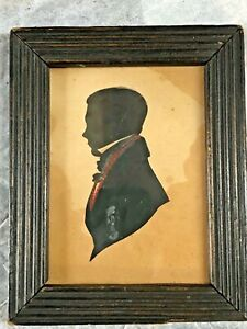 1848 Silhouette of William Morrison by Howie