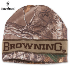 Browning Reversible Realtree Camo Beanie - Hunting