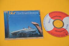 CD (NO LP ) BLUR THE GREAT ESCAPE 1°ST ORIG 1995 CON LIBRETTO
