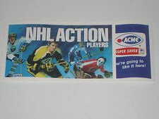 1974 -75 ACME NHL STAMPS UNOPENED CLEMENT TKACZUK BOUDRIAS MARTIN WATSON VACHON