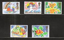 Great Britain #1243-7 Special Occasions Cupid Rose Ship