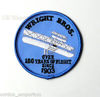US AIR FORCE WRIGHT BROTHERS 100 YEARS OF FLIGHT EMBROIDERED PATCH 3 INCHES