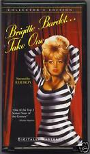 BRIGITTE BARDOT - TAKE ONE - FRENCH VHS -1996