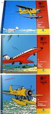 Lot 3 fascicules livres TINTIN les avions hydravions magazin booklet part review
