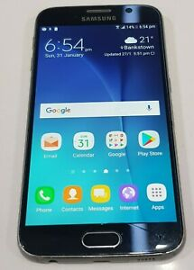 Unlocked  Samsung Galaxy S6 SM-G920i 128GB SOLD AS IS/Crack screen/ Crack Back