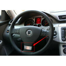 ABS Multifunction Steering Wheel Trim Cover For VW Golf Jetta MK5 GTI Passat B6