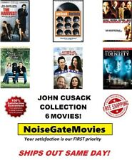 John Cusack 6 Film Collection Dvd: The Ice Harvest/High Fidelity/Runaway Jury.