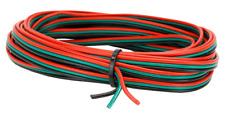 2kpm54- 20m Roll 3 Core Lazo Alambre Punto Motor Rojo/Verde / Negro Strand