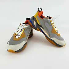 Puma Thunder Spectra Shoes Men Size 9 Drizzle/Drizzle/Steel Grey 36751602 RARE