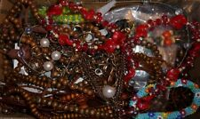 JUNK DRAWER FASHION JEWELRY LOT REPAIR WEAR SCRAP #MC39