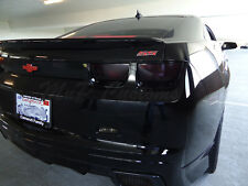 2010-13 Chevy Camaro Complete Tail light Smoke Blackout Vinyl Overlay Tint Cover