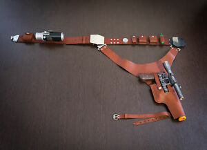 Han Solo Blaster, Leather Belt with Holster