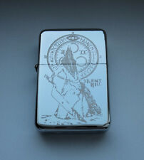 SILENT HILL - chrome petrol lighter [Cd:111.mc-42-lP.] mini poster PYRAMID HEAD