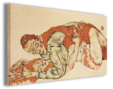 Quadro moderno Egon Schiele vol IV stampa su tela canvas pittori famosi