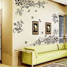 Flower Fad Removable Art Vinyl Quote Wall Sticker Decal Mural Home Room Decor SG