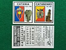 CALCIATORI 1969-70 69-1970 CATANIA CATANZARO SCUDETTO , Figurina Panini (NEW)