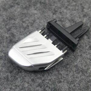 For Land Rover Freelander 2 Front A/C Air Vent Outlet Tab Clip Silver