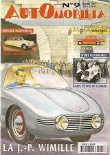 AUTOMOBILIA 9 JP WIMILLE 46 50 MATHIS DS ANGLAISES MATHIS SALMSON 2300 S CHENARD
