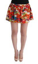 NEW Dolce & Gabbana D&G Beachwear Swim Skirt Floral Print Swimsuit IT2 / S