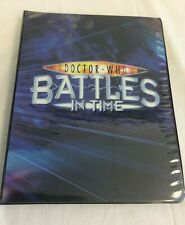 More details for dr who battles in time binder full containing 432 cards - h24