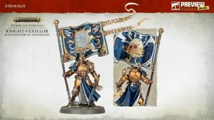 Warhammer Age of Sigmar: Knight-Vexillor with Banner of Apotheosis