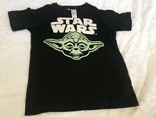 Boys size 8-9, Star Wars, black cotton long sleeve t-shirt, The Dark Side, EUC