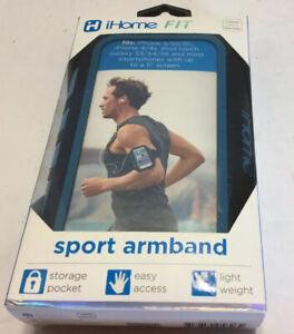 iHome Universal Adjustable Neon Armband Blue Good