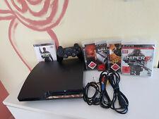 Sony PS3 Slim Konsole 120 - 500 GB / 4-5 Spiele dabei / extra Controller / Sets
